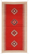 Load image into Gallery viewer, Handwoven Zapotec Indian Rug - Espiritu Wool Oaxacan Textile