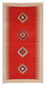 Handwoven Zapotec Indian Rug - Espiritu Wool Oaxacan Textile
