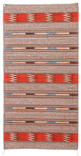 Load image into Gallery viewer, Handwoven Zapotec Indian Rug - Guatemalteco Azul Wool Oaxacan Textile