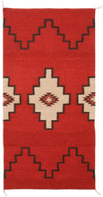 Load image into Gallery viewer, Handwoven Zapotec Indian Rug - Sprit Steps Wool Oaxacan Textile