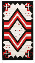 Load image into Gallery viewer, Handwoven Zapotec Indian Rug - Promontory Wool Oaxacan Textile