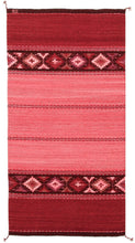 Load image into Gallery viewer, Handwoven Zapotec Wool Rug - Rosie's DIamonds Wool Oaxacan Textile