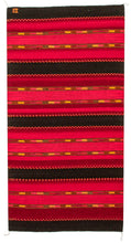 Load image into Gallery viewer, Handwoven Zapotec Indian Rug - Triquis Rojo Wool Oaxacan Textile