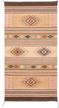 Load image into Gallery viewer, Handwoven Zapotec Indian Rug - Tubac Sunset Wool Oaxacan Textile