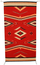 Load image into Gallery viewer, Handwoven Zapotec Indian Rug - Walk in Beauty Wool Oaxacan Textile