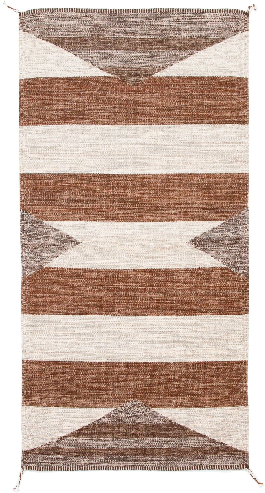 Handwoven Zapotec Indian Rug - Zanzibar Wool Oaxacan Textile