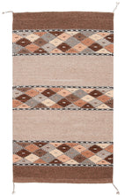 Load image into Gallery viewer, Handwoven Zapotec Rug - Book Cliffs Wool Oaxacan Textile