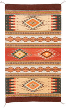 Load image into Gallery viewer, Handwoven Zapotec Indian Rug - Mariachi Wool Oaxacan Textile