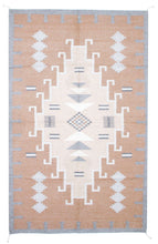 Load image into Gallery viewer, Handwoven Zapotec Indian Rug - 1920s Lincoln Natural