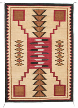 Load image into Gallery viewer, Handwoven Zapotec Indian Rug - Feathers Lincoln Wool Oaxacan Textile