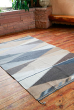 Load image into Gallery viewer, Handowven Zapotec Indian Rug - Papalotes Invierno Wool Oaxacan Textile