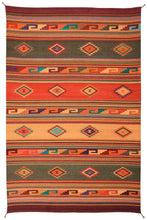 Load image into Gallery viewer, Handwoven Zapotec Indian Rug - Midday Maynard Dixon Wool Oaxacan Textile