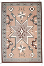 Load image into Gallery viewer, Handwoven Zapotec Indian Rug - Storm of Stars Wool Oaxacan Textile