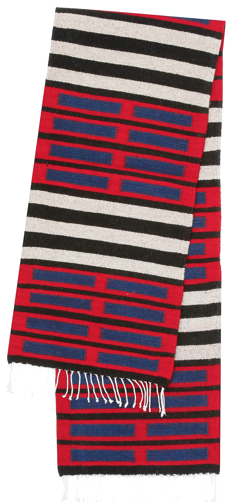 Handwoven Zapotec Table Runner - Chief Cintas Wool Oaxacan Textile