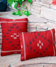 Load image into Gallery viewer, Handwoven Zapotec Indian Pillow - First Mesa Wool Oaxacan Textile