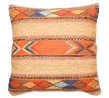 Load image into Gallery viewer, Handwoven Zapotec Pillow - Cintas Juarez Wool Oaxacan Textile