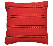 Load image into Gallery viewer, Handwoven Zapotec Pillow - Cintas Triquis Wool Oaxacan Textile