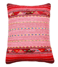 Load image into Gallery viewer, Handwoven Zapotec Indian Pillow - Rosie's Braids Wool Oaxacan Textile