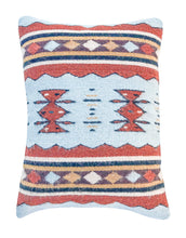 Load image into Gallery viewer, Handwoven Zapotec Indian Pillow - Meli's Waves Wool Oaxacan Textile