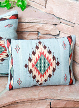 Load image into Gallery viewer, Handwoven Zapotec Indian Pillow - Meli's Star Wool Oaxacan Textile