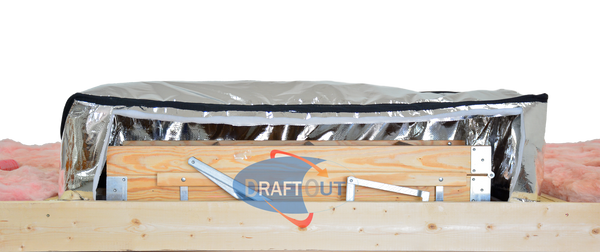 insulation attic stair cover