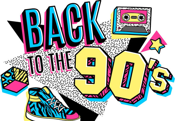 Retro Fashion back to the 90s