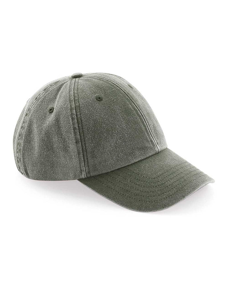 denim baseball cap olive