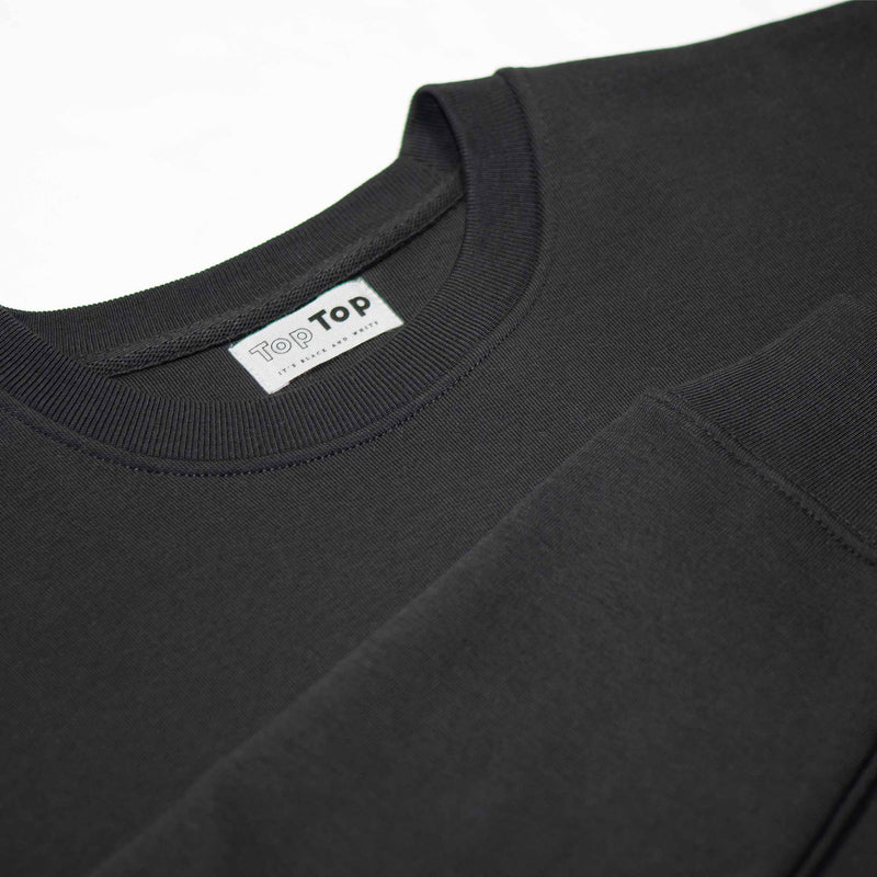 womens-black-sweatshirt-round-neck