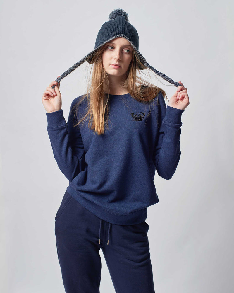womens-navy-sweatshirt-pug