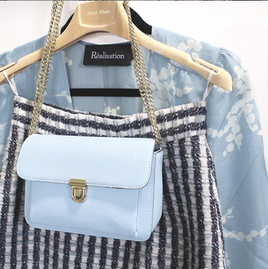 baby blue cross body