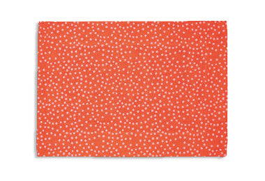 Placemats Orange Reverse Dot by Pehr