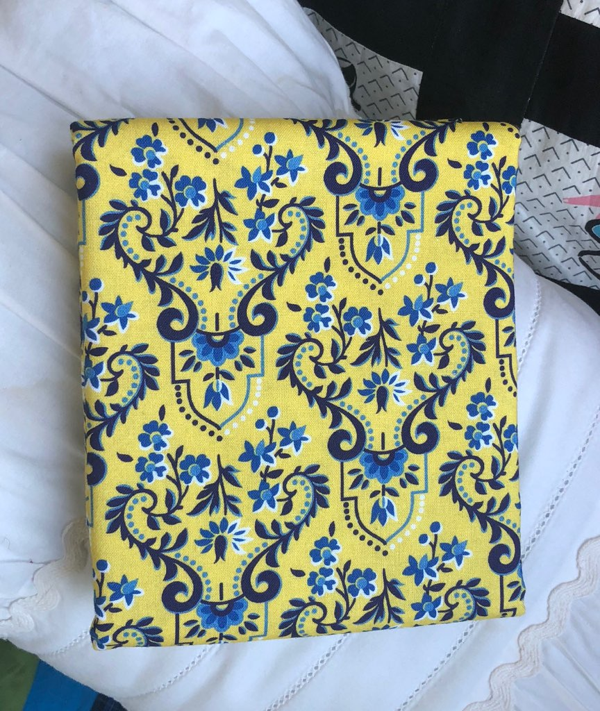 Somerset Collection Baroque Yellow ~ Fabric By The Yard / Half Yard / Fat Quarter
