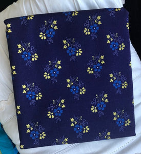 Somerset Collection Ditsy Navy ~ Fabric By The Yard