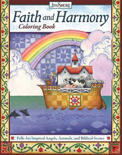 Load image into Gallery viewer, Faith & Harmony ~ NEW Signed Coloring Book by Jim Shore
