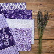Load image into Gallery viewer, Lavender Fields Collection ~ Fat Quarters Assortment