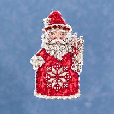 Cross Stitch Kit ~ Nordic Santa