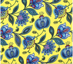 Orleans Yellow ~ Fabric By The Yard / Half Yard / Fat Quarter