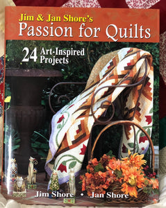 Passion for Quilts ~ Hardcover Book Signed