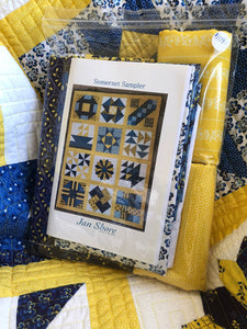 Somerset Collection ~Throw Sized Quilt Kit