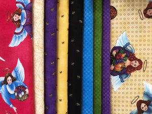 Touched By An Angel Collection ~ Fat Quarters Assortment