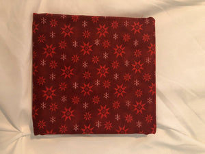 A Quilter's Christmas Collection Winter Snowflake Berry ~ Fabric By The Yard