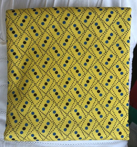 Somerset Collection Zig Zag Yellow ~ Fabric By The Yard