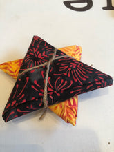 Load image into Gallery viewer, Batik Collection Yellow Black Orange ~ 2 Fat Quarters