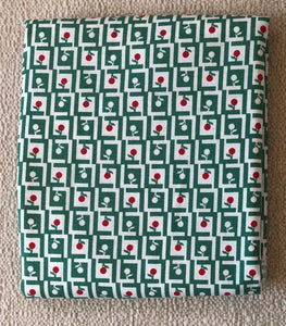 Reproduction Collection Green & White ~ Fabric By The Yard