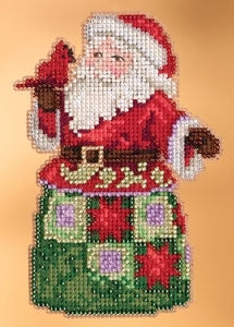 Cross Stitch Kit ~ Festival Friends Santa