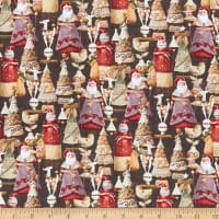 Load image into Gallery viewer, River's End Collection Festive Fun Charcoal ~ Fabric By The Yard
