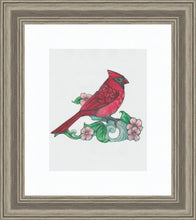 Load image into Gallery viewer, Caring Cardinal ~ Sketch Art Print