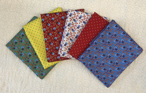 Orleans Collection ~ 6 half yards Various Patterns