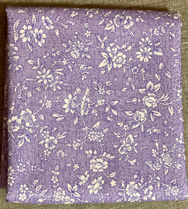 Margaux Small Flower Light Purple ~ Fabric By The Yard / Half Yard/ Fat Quarter