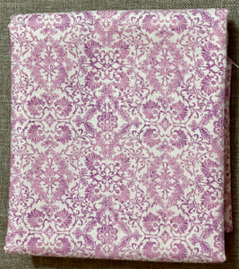 Veronica Damask Light Pink ~ Fabric By The Yard / Half Yard/ Fat Quarter